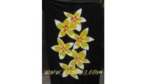 Floral Woman Sarong Painted