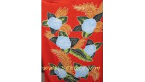 Hand Painted Floral Sarongs