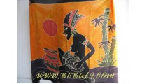 Traditional Balinese Sarongs