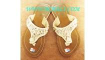 Bead Flip Flop Sandal