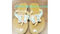 Butterfly Bead Ladies Sandal