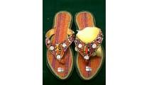 Fashion Slipper Woven Beads
