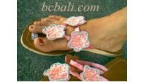 Flower Sandals Beads