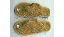 Sandals Natural Seagrass