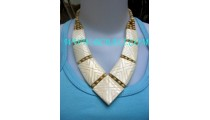 Natural Fashionable Bone Necklaces
