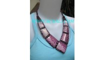 Casual Necklace Fashion Handcraft By Bone