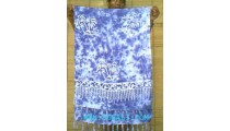 Blue Hawaiian Mini Sarong