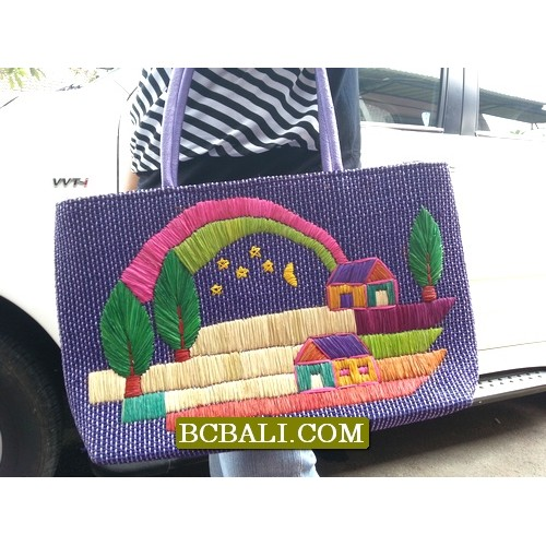 Authentic hand embroidery handbags full