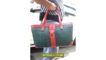 Candy Designd Handbags Straw Casual