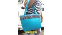 Handmade Beaded Cotton Handbags