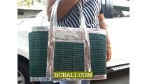 Classic Modern Style Straw Handbags Designs
