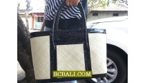 Natural Ethnic Pandanus Handbags Design Bali