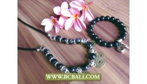 Stones Beads Bali Jewelry Sets Designs