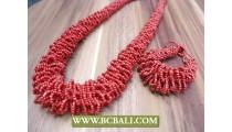 Sets Necklace Bracelet Beading Wrap