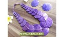 Bali Ethnic Design Coco Shells Necklace