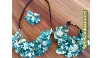Sets Necklace Bracelets Rings Shells Beads
