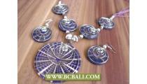 Handmade Resin Shells Pendant Necklace