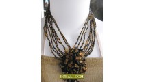 beads stone necklaces chokers pendant fashion