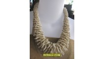 multi wrapted beaded necklaces corn short