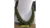 lady hand made accessories beading necklace