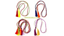 bali beads necklaces tassel roupe long strand