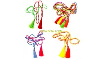 balinese tassel necklaces long seeds glass bead