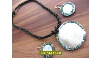 beaded necklaces pendants seashells casual