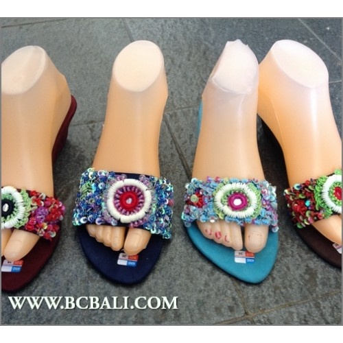 d6ea0fd7d1f2 Bali Wedges Full Beads Sandals - bali wedges multi beads sandals ...
