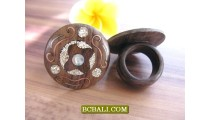 Ethnic Unique Designs Rings from Sono Wood Organic
