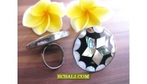 Motif Seashells Rings Steels Accessories Designs
