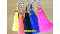 bali roupe key rings designs solid color