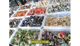 beads finger rings free shipping wholesale bali