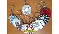 mix alot key chain seashells resin Bali