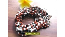 Bead Charming Stretch Bracelets Multi
