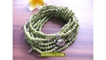 Bead Solod Color Bracelets Stretch Charm