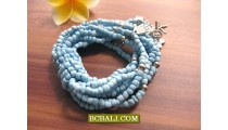 Bali Beads Charming Stretch Bracelets Designs