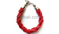 bali beads braided bracelets jewelry designs