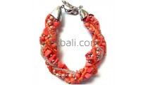 bali stone bracelets beads glass handmade