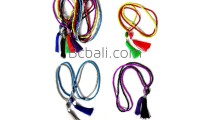 budha pendant tassel necklace long strand bead ethnic