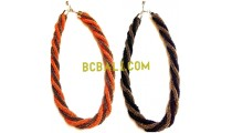 two model bycolor necklaces beads