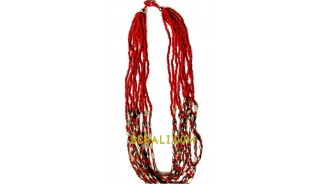 beaded necklaces design multi strands