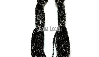 bali multi seeds black beading handmade fashion