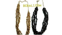 charming fashion beads necklaces long