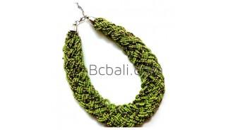 full beads handmade necklace wrap chokers bali design