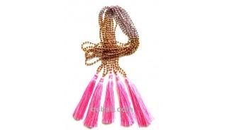 bali crystal beaded tassels pendant fashion