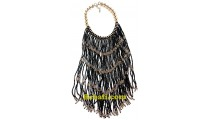 rumbai necklaces long seed glass beads fashion