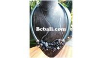 choker necklaces beads shells Bali
