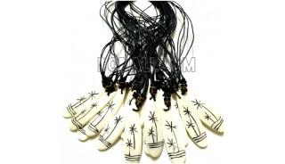 necklaces pendant bone carving wholesale price 500 pieces