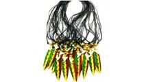 bali necklaces for men's pendant surf board rasta