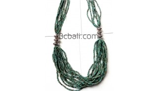 handmade necklaces sequins fashion jewelry